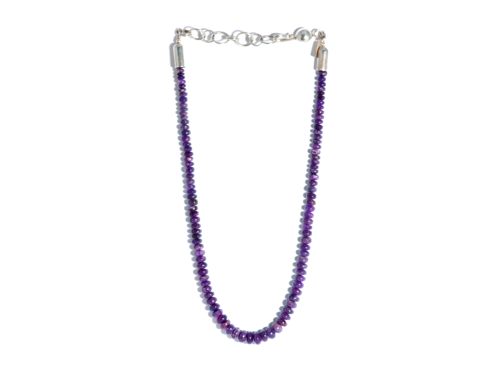 Sugilite Beaded Necklace