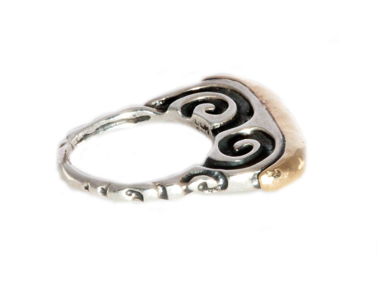 Swirl Stack Ring