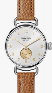 Canfield 38mm Sunray Dial Watch