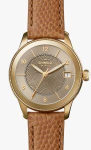 Gail 36mm Gold Sandblast Dial Watch Dial Watch