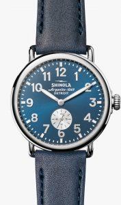 Runwell 41mm Blue Dial Watch