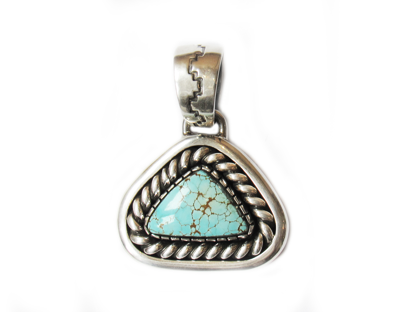 Triangle Silver Pendant