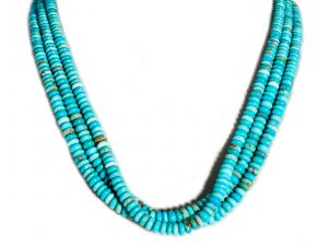 3 Strand Mixed Mine Necklace