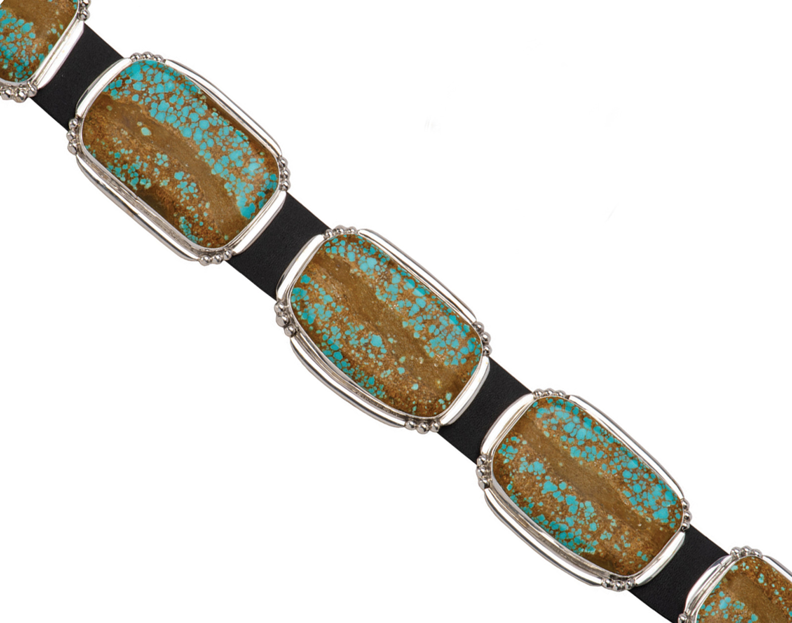 Number 8 Turquoise Concho Belt