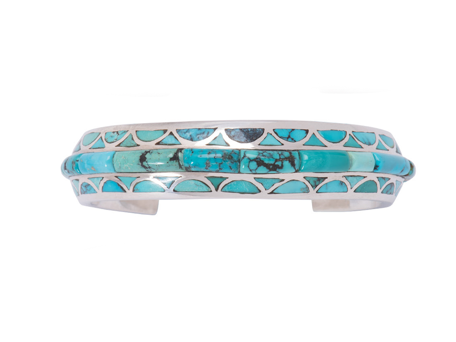 Natural Chinese Turquoise Cuff