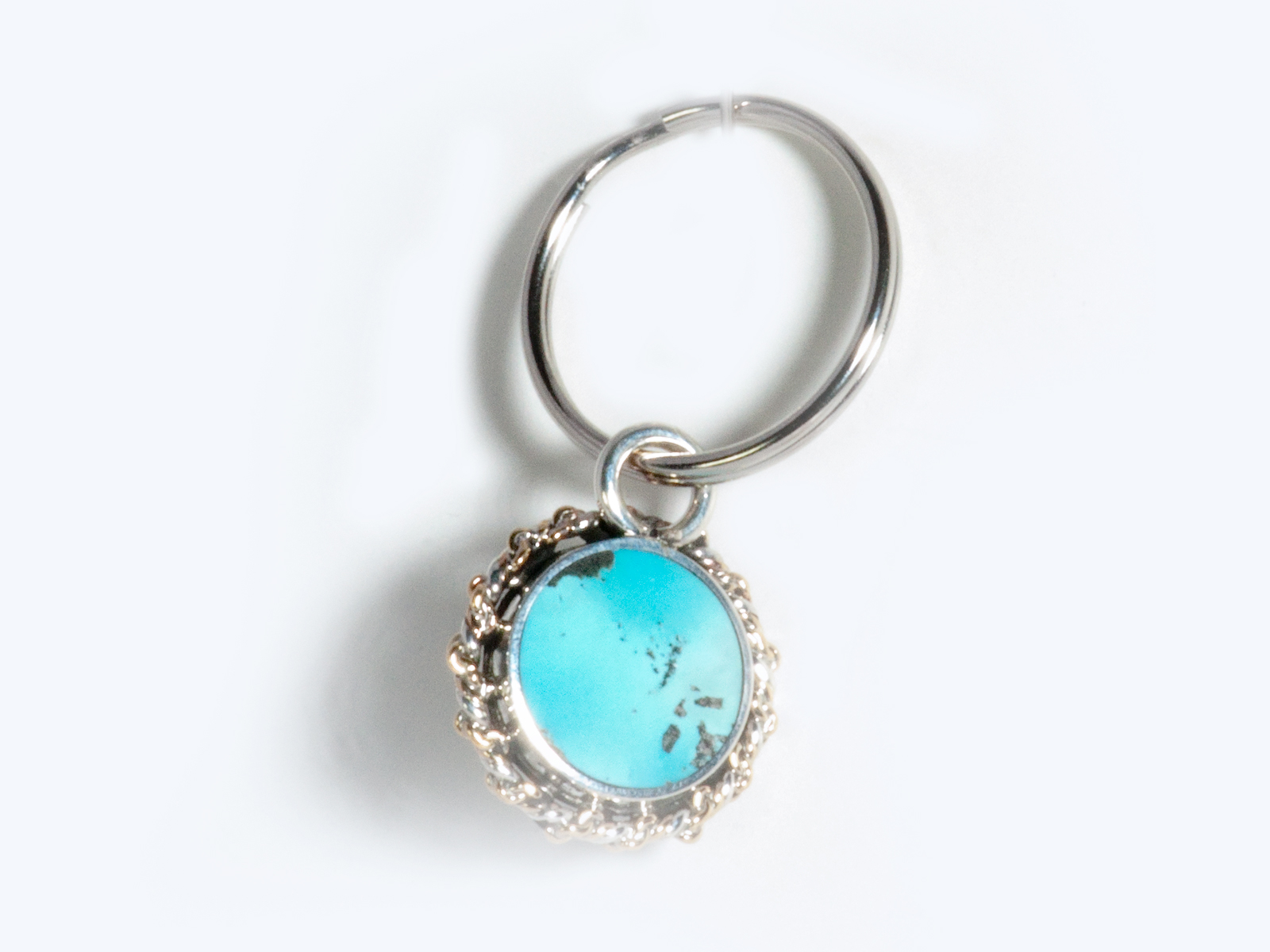 Turquoise Key Chain