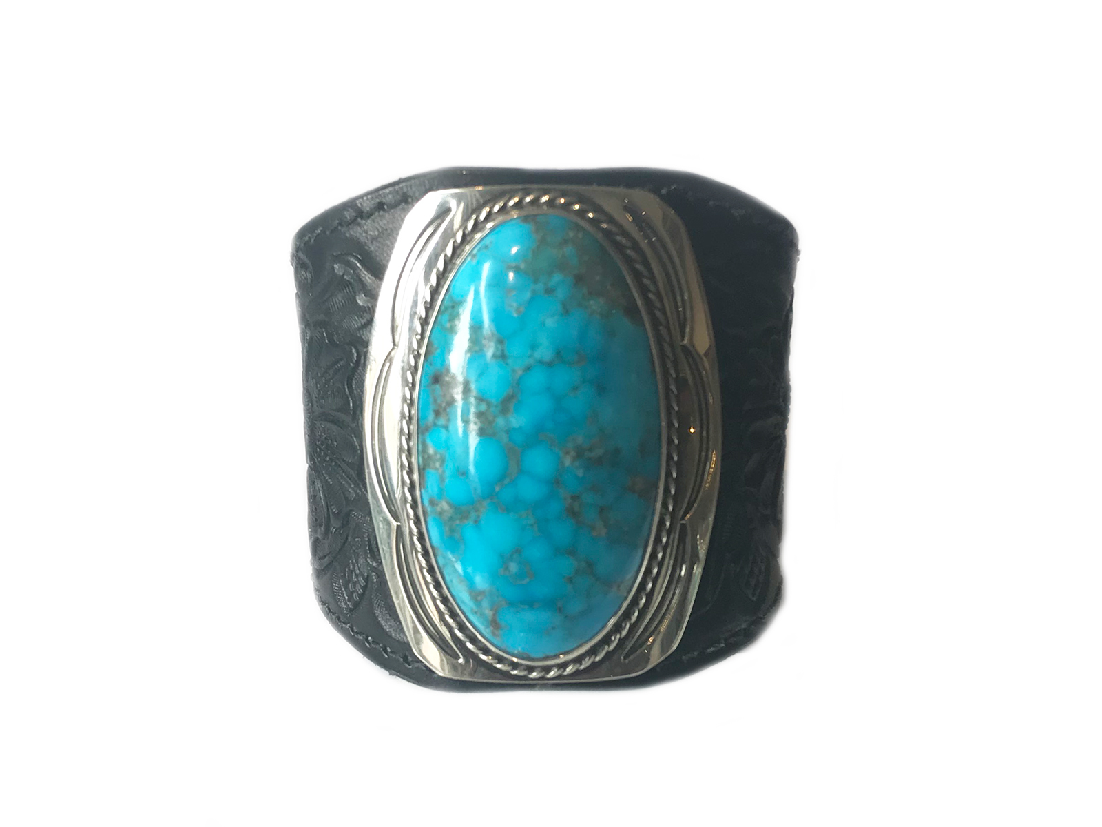 Turquoise-Leather-Bracelet
