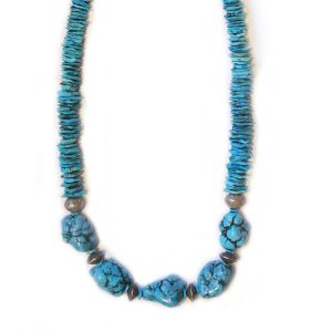 Vintage Morenci Turquoise Necklace