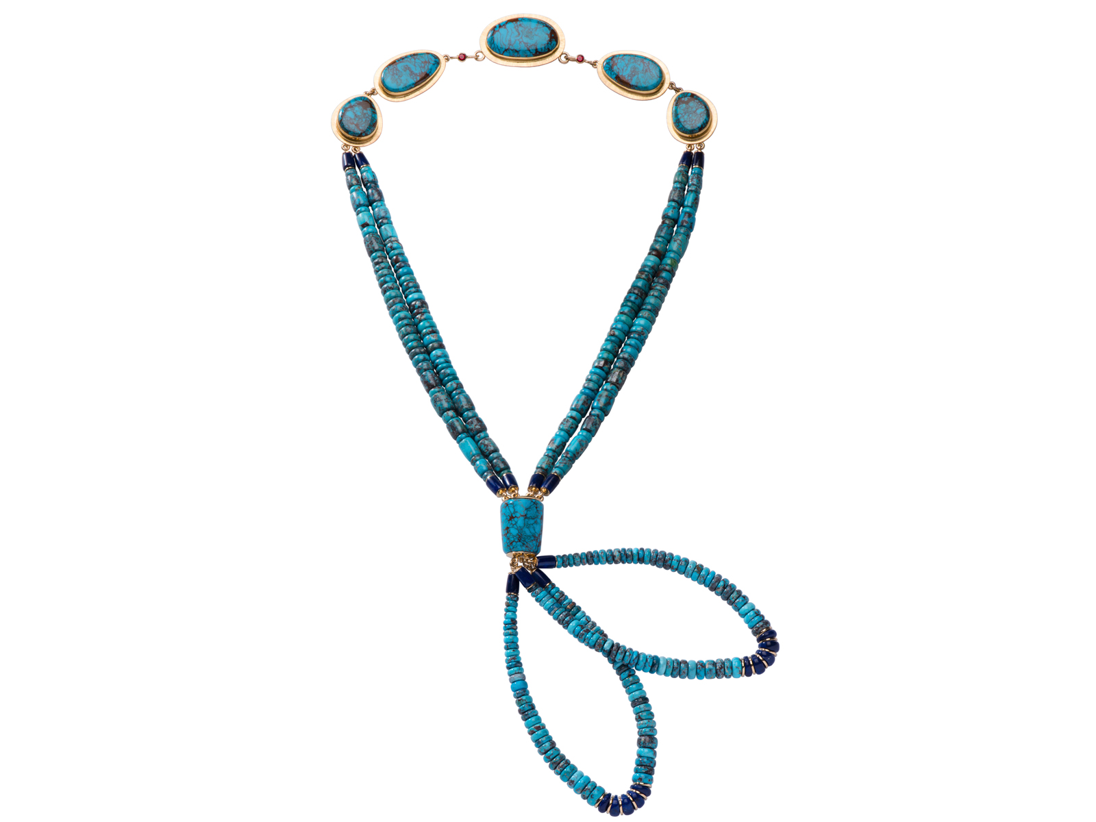 One of a Kind Bisbee Turquoise Necklace