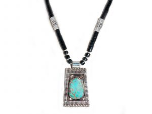 Kewa Number 8 Turquoise Necklace