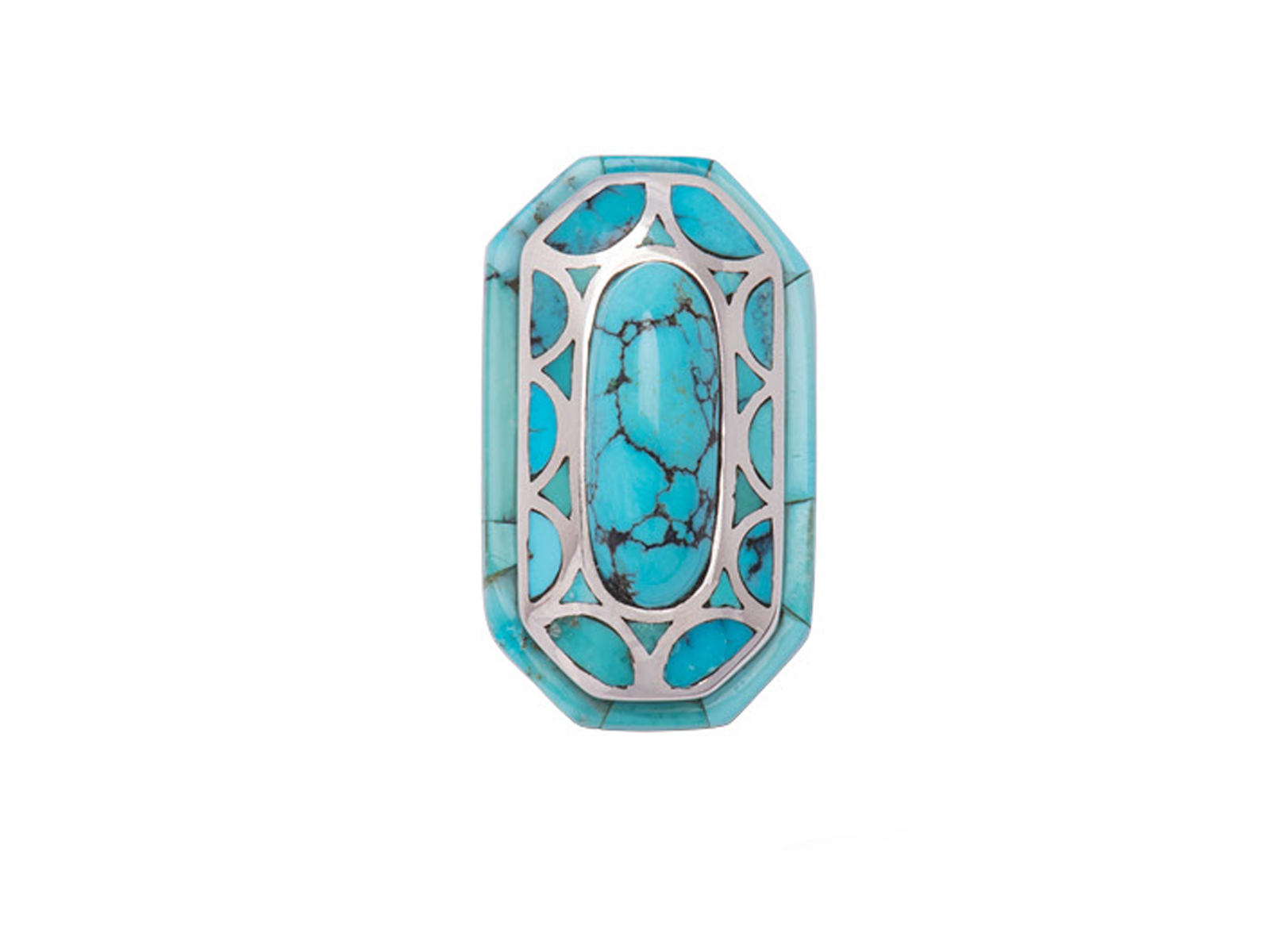 Natural Chinese Turquoise Ring