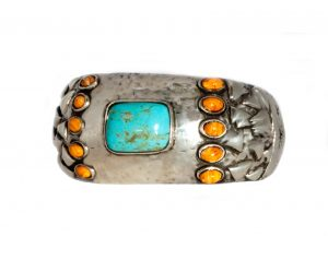 Turquoise Spiny Oyster Cuff