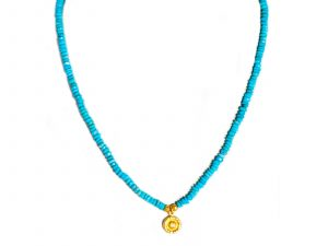 Single Strand Turquoise Diamond