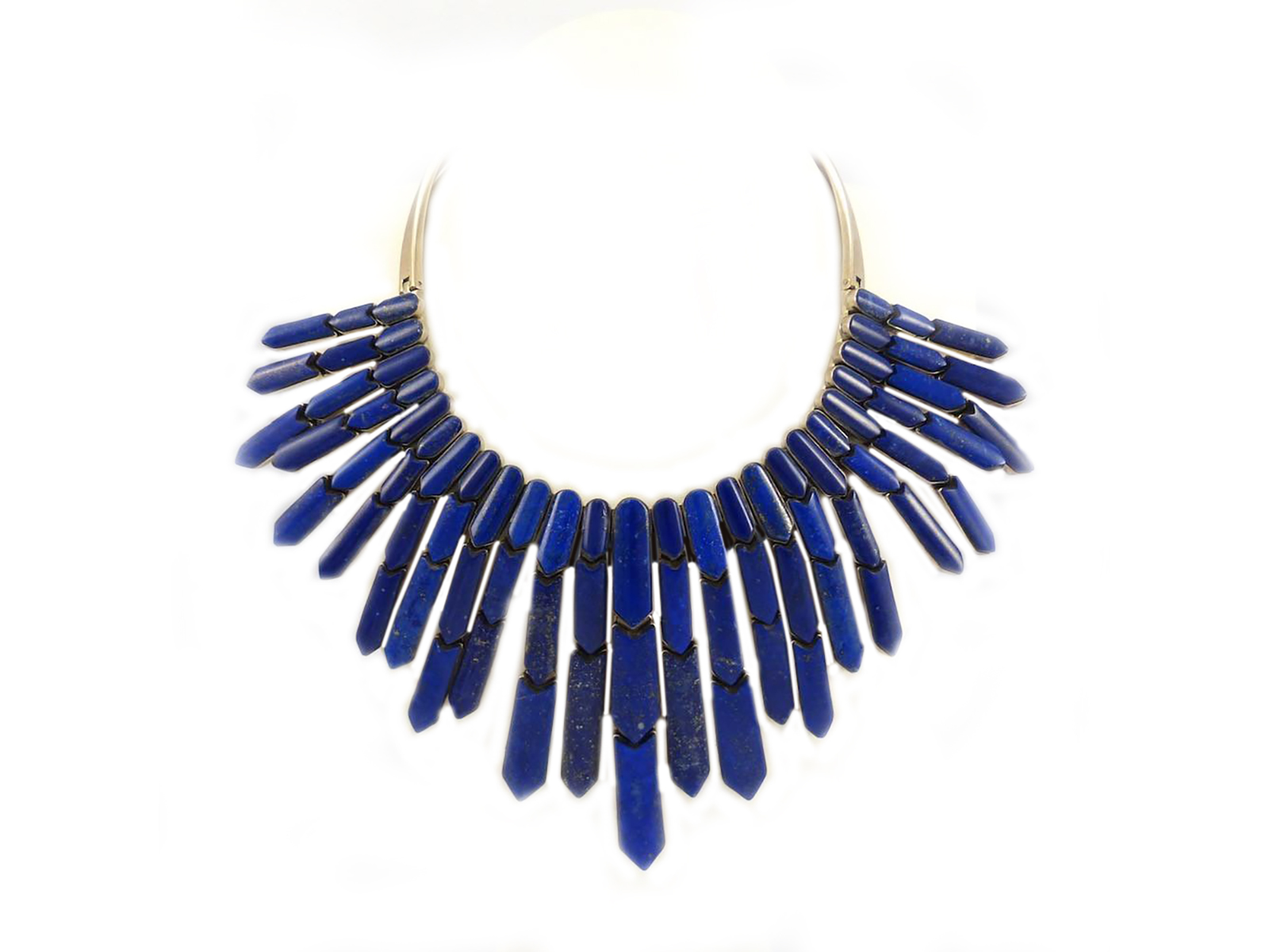 Lapis Waterfall Necklace