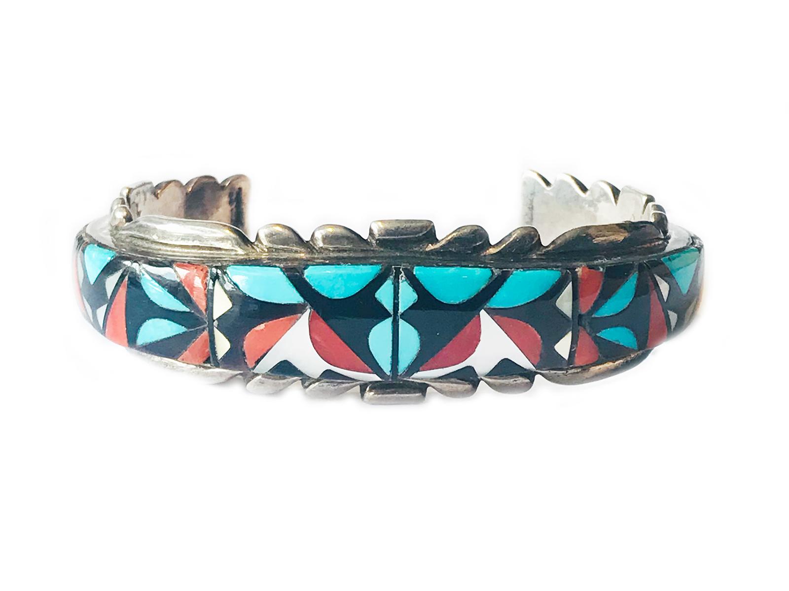Mosaic Inlay Cuff