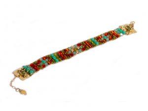 Gem Beaded Bracelet