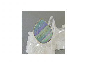 Gold Boulder Opal Ring