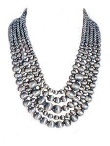 Sterling Silver Navajo Pearl