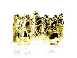 Ancestors Gold Bracelet