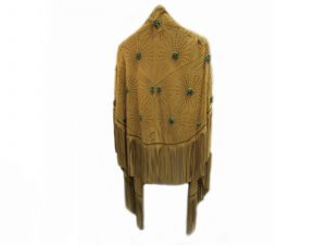 Maize-Suede-Shawl