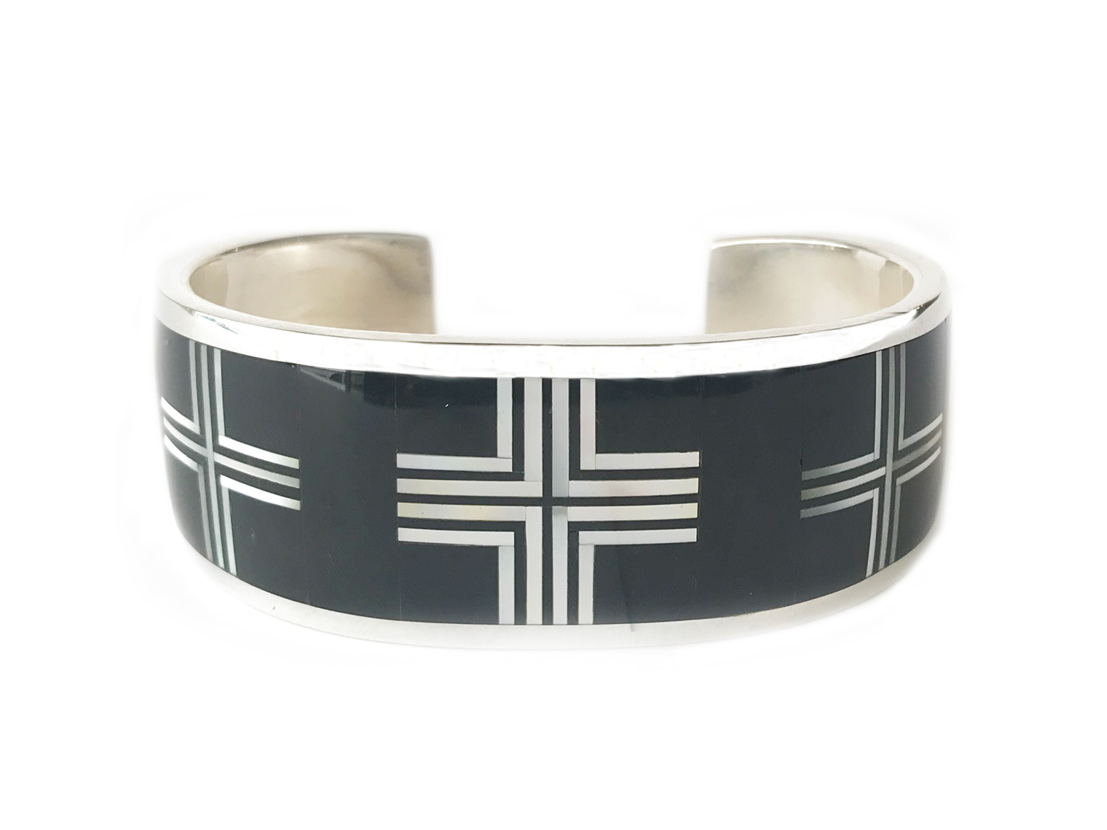 3 Cross Inlay Cuff