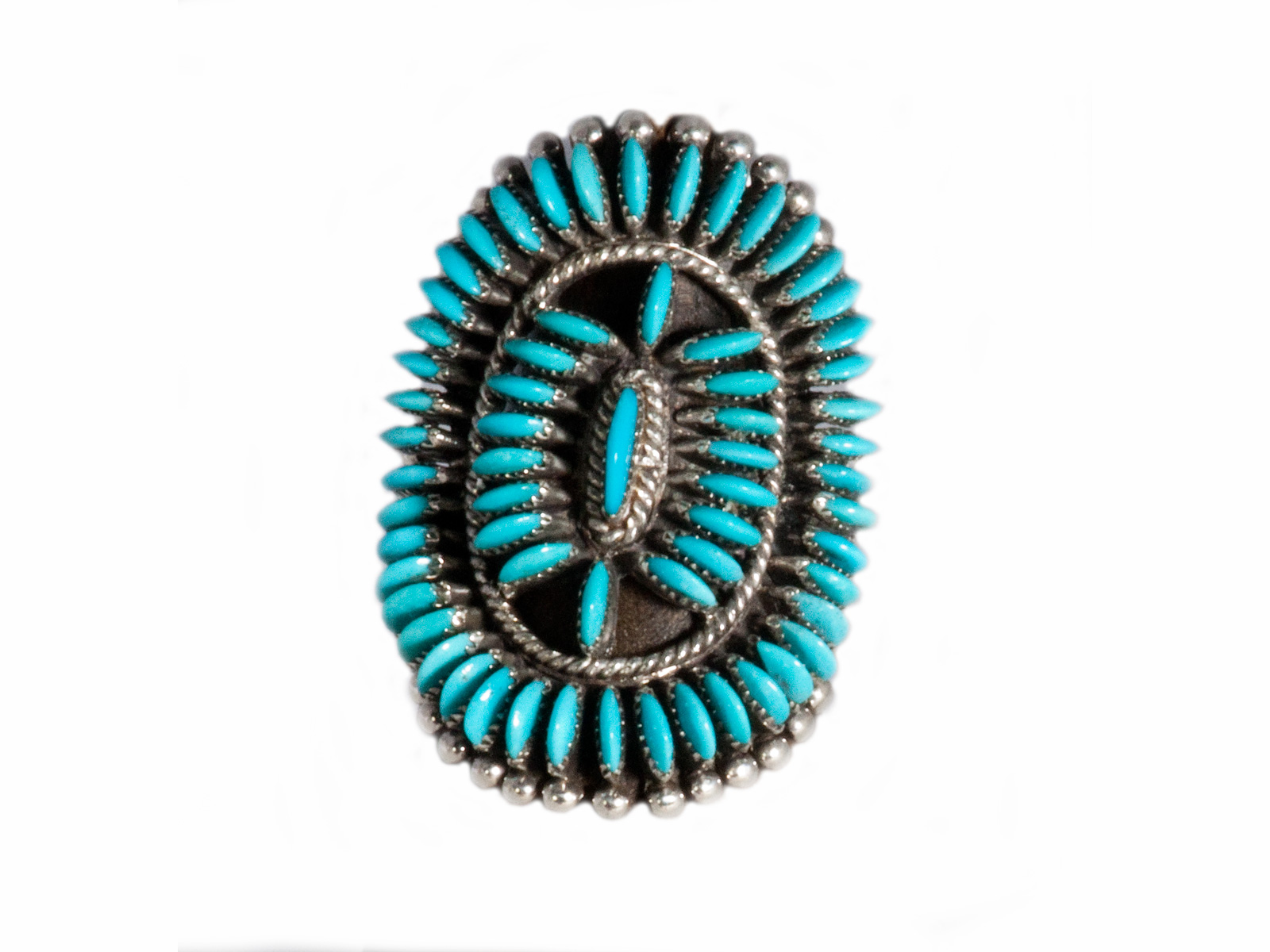 Zuni Sleeping Beauty Turquoise Ring