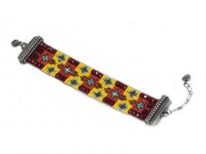 Rusty Beaded Bracelet