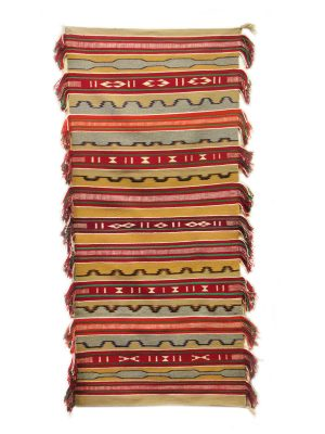 Chinle Sash Weaving