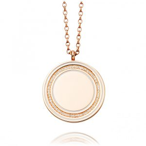 Diamond Rose Gold Locket