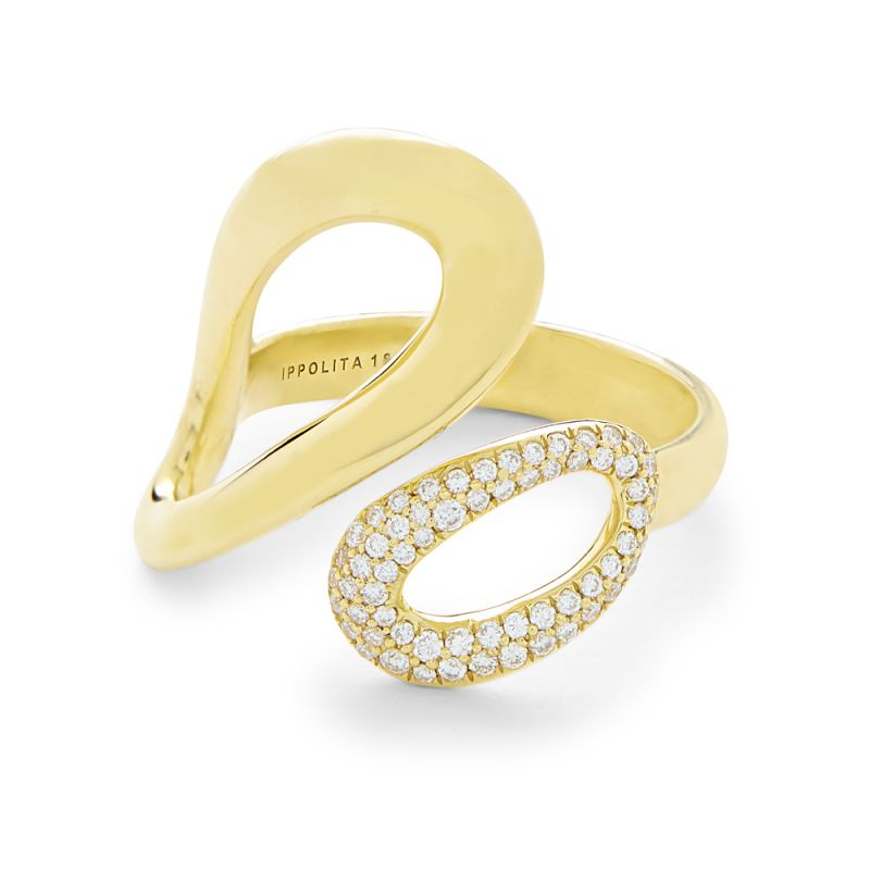 Classico Ring in 18K Gold with Diamonds