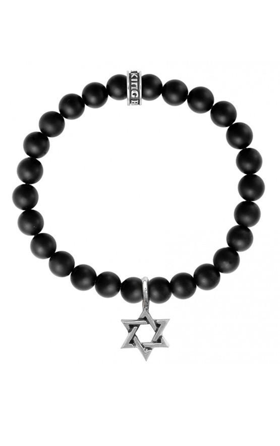 Star of David Onyx Bracelet