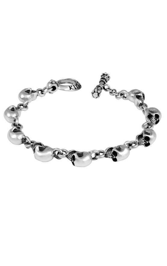 Multi Skull Bracelet for Men