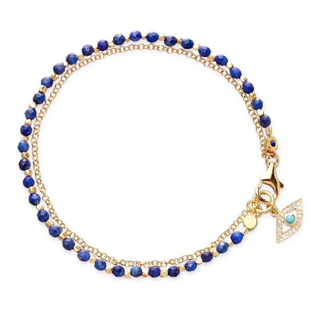 Lapis Friendship Bracelet