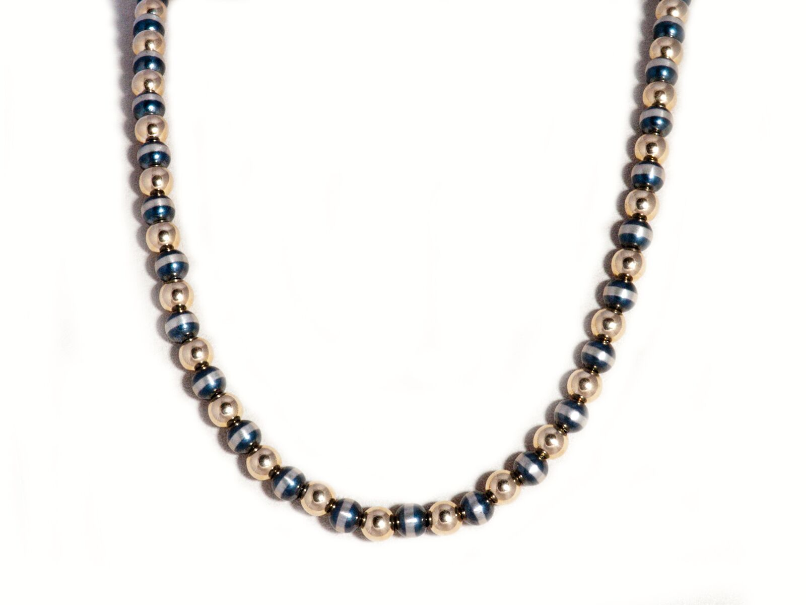 silver carma follie beads en hires necklace folli short plated cm