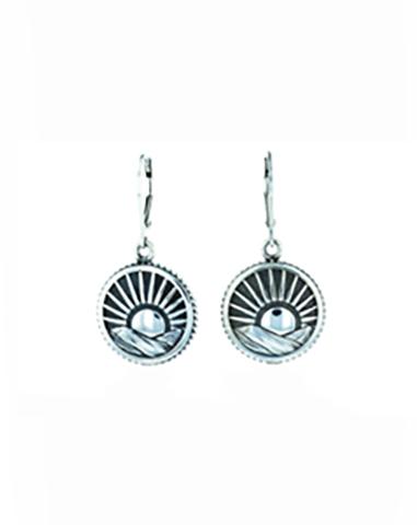 Sun Concho Earrings