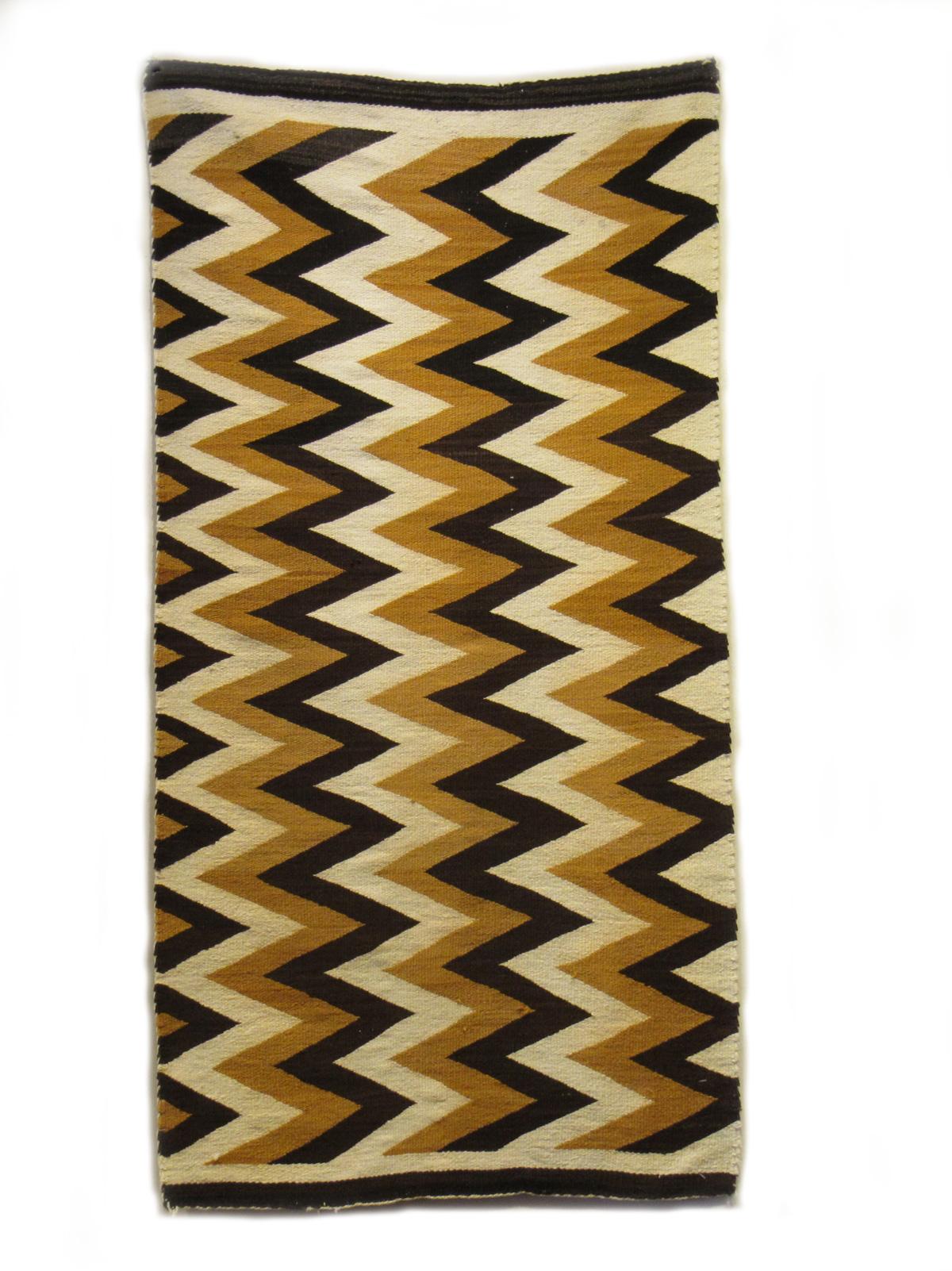 Vintage Navajo Wedge Weave
